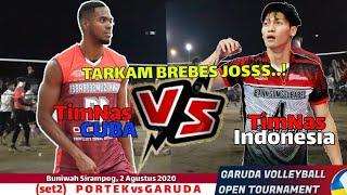 DIMAS TimNas INDONESIA vs ARAUJO TimNas CUBA di TARKAM JATENG...SIAPA YG KENA SPIKE DI DADA?