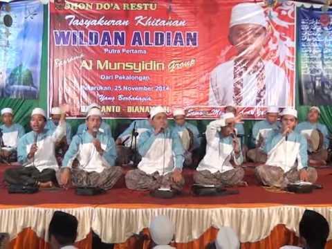 Al Munsyidin isfa'lana