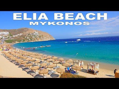 ELIA BEACH - MYKONOS  4K
