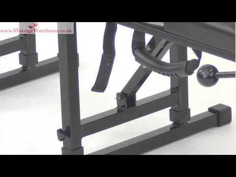 Porta-Lite Chiropractic Table REVIEW And DEMONSTRATION From Massage Warehouse UK