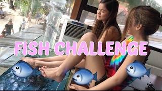 Fish Spa Challenge ft. Maris Racal