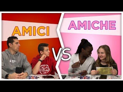 AMICI Vs AMICHE - Differenze e Situazioni divertenti by Lukas Lisa Ceci e Marco
