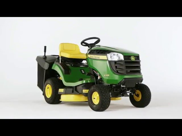 The John Deere X115R Lawn Tractor