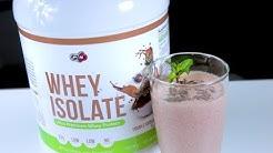 WHEY ISOLATE Choco & Strawberry Protein Shake Recipe   PURE NUTRITION