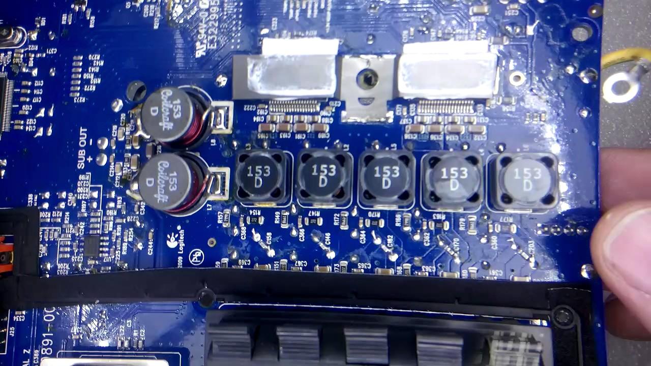 Logitech Z906 Anakart