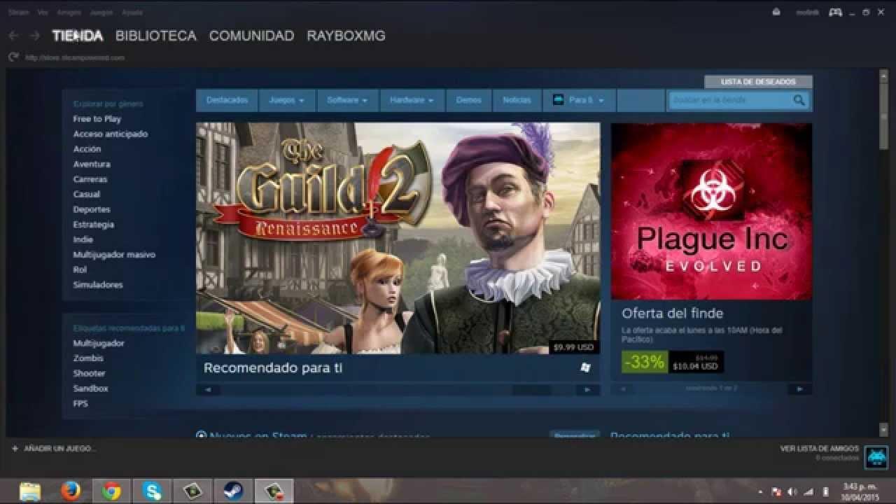 Cómo acelerar las descargas de juegos de Steam