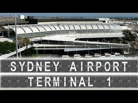 Sydney Airport - Terminal 1 | Arrival & Departure