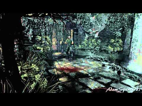 06 resident evil hd remaster chris invisible hard for Plante 42 chris