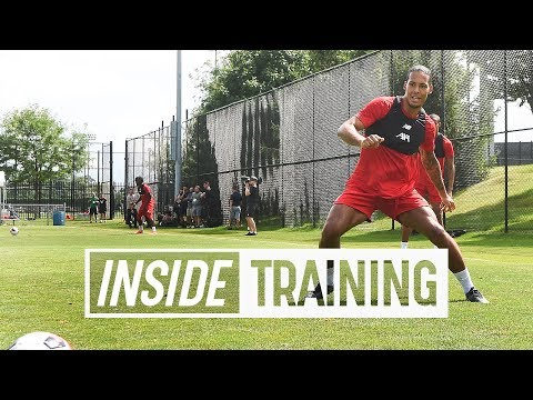 Inside Training: Behind-the-scenes from Liverpool FC's first