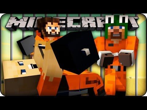 Minecraft Prison Escape : BACK BEHIND BARS! (Jail Break) #1