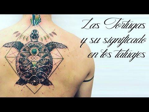 Las Tortugas Y Su Significado En Los Tatuajes Youtube