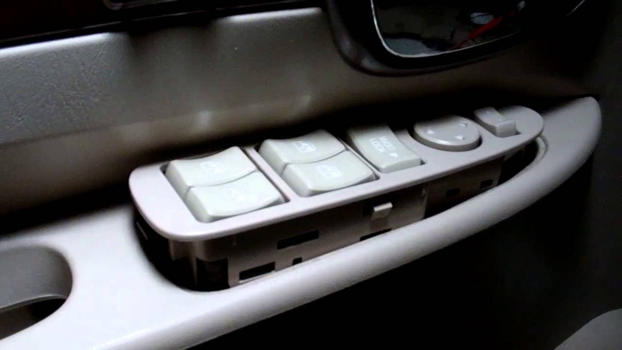 hight resolution of buick power window switch vlog 37