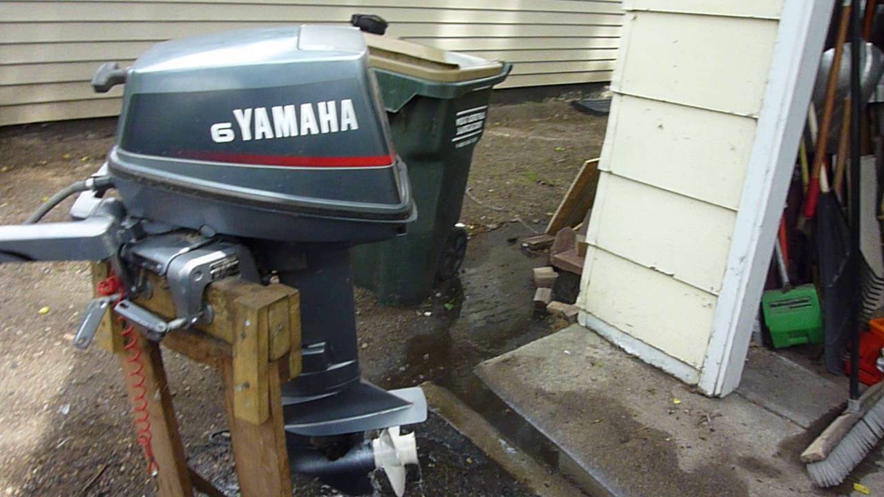 Yamaha 6 hp outboard model 6mshr youtube for 30 hp yamaha outboard