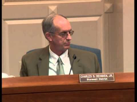 Frederick County Board of Supervisors meeting, January 9, 2013