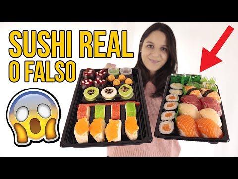 Sushi REAL vs FAKE