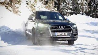 Höher, schneller, weiter! | Audi SQ7 2017 | der Test