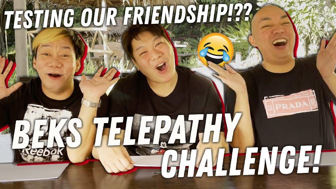 BEKS TELEPATHY CHALLENGE (IISA NGA BA INIISIP NAMIN?) | BEKS BATTALION