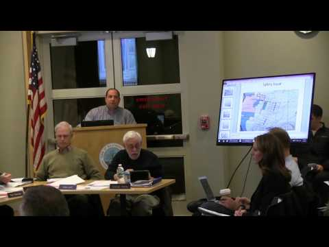 Finance and Warrant Commission Meeting 3/7/2016