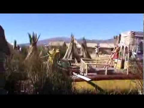Life in Uros Islands, lake Titicaca, near Puno city, Peru ... by Razvan Pascu