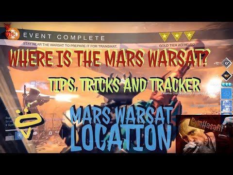 Destiny: Where is the Warsat on Mars Location 2017 (Defend the Warsat)