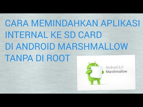 cara memindahkan aplikasi internal ke sd card di android marshmallow tanpa root
