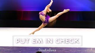 Put Em In Check - Chloe Kim 8 yr old Jazz Solo