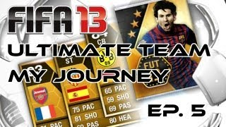 FIFA 13 - My Ultimate Team Journey - Ep.5 - The Chemistry Is Rising!