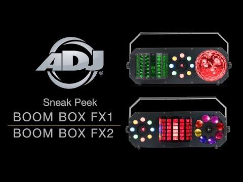 ADJ Boom Box FX1 & Boom Box FX2 Sneak Peek