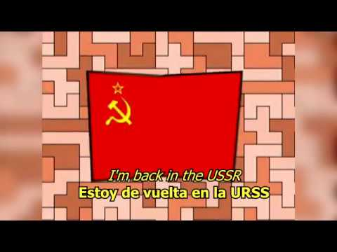 Back in the USSR  The Beatles LYRICSLETRA Original