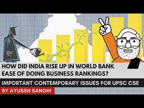 How did India Rise Up in World Bank Ease of Doing Business Rankings?