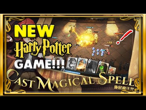 WILL THIS NEW HARRY POTTER MOBILE GAME BE BETTER?!?! MAGIC AWAKENED!