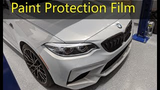 homepage tile video photo for 2021 M2 Competition Paint Protection Film Overview