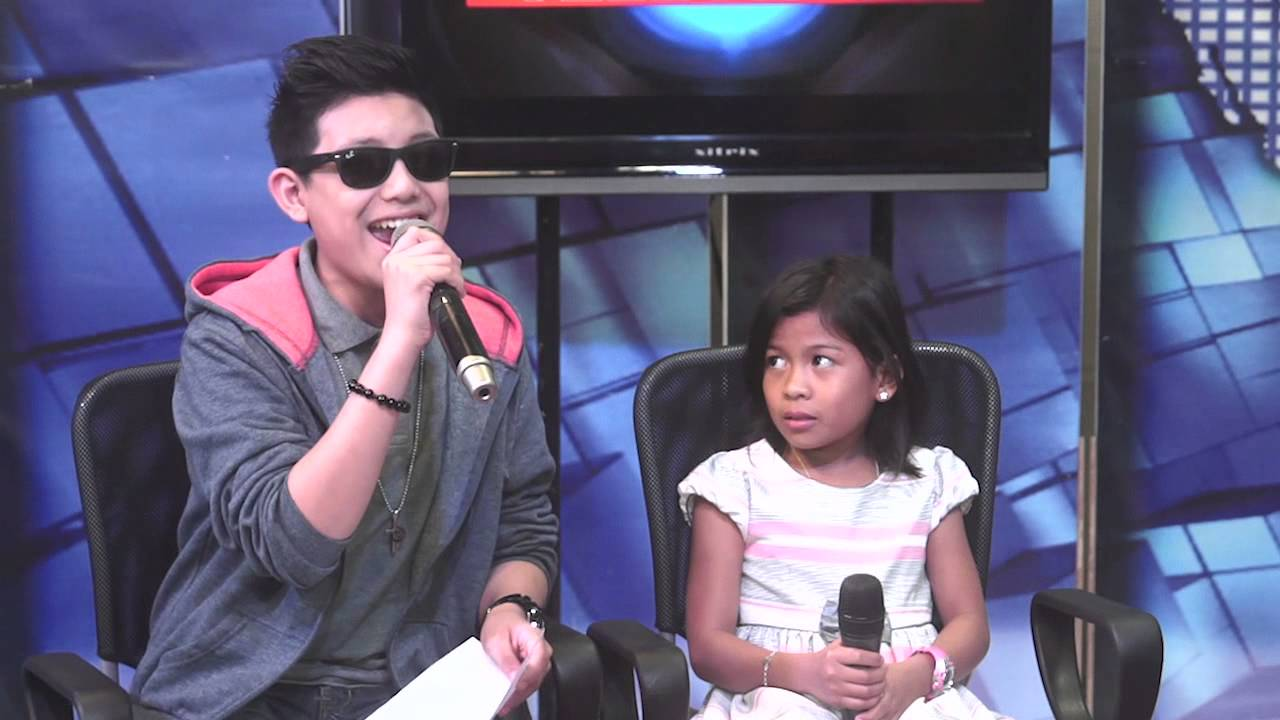 darren espanto and lyca gairanod of the voice kids