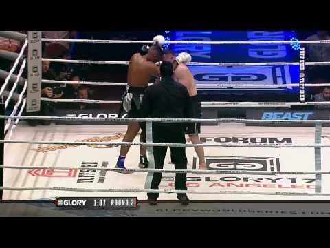 GLORY 17 Los Angeles - Mirko Crocop vs Jarrell Miller