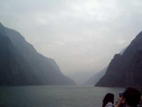 Sailing the Yangtze, Qutang Gorge - December 2009