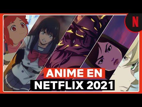 Todo el anime que verás en Netflix este 2021