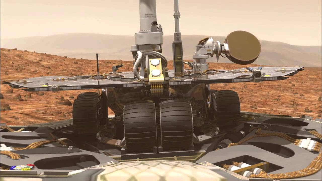 mars exploration rover mission animation - photo #4