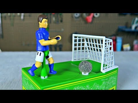 Japanese Soccer Coin Bank