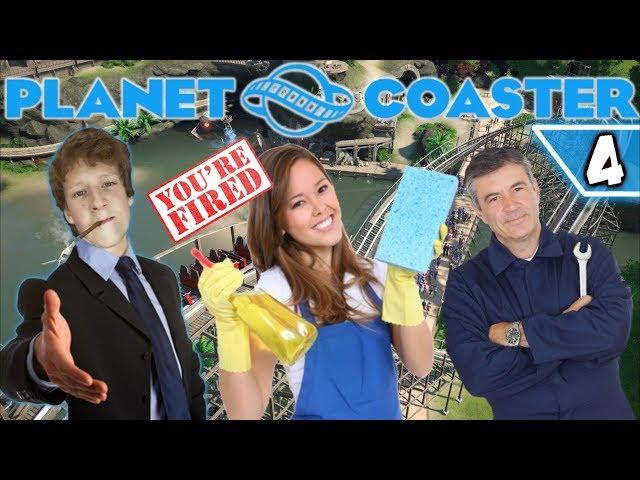 Professioneel Rotpersoneel - Planet Coaster #4