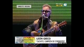 Festival de la Confraternidad Argentino - Boliviana - Recital de León Gieco - 12-07-13