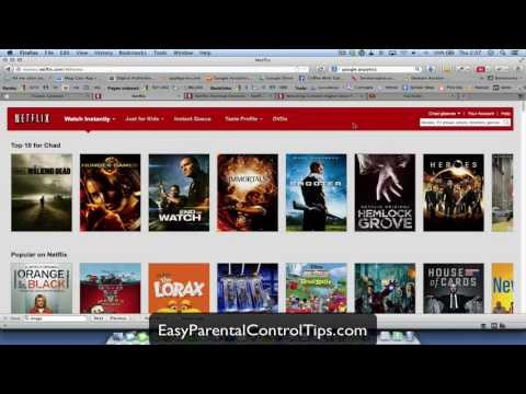 How to setup NETFLIX Parental Controls and Still Allow Parents To Watch More Mature Content