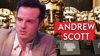 Fleabag and Black Mirror's Andrew Scott on next project with Phoebe Waller-Bridge at BAFTA TV Awards