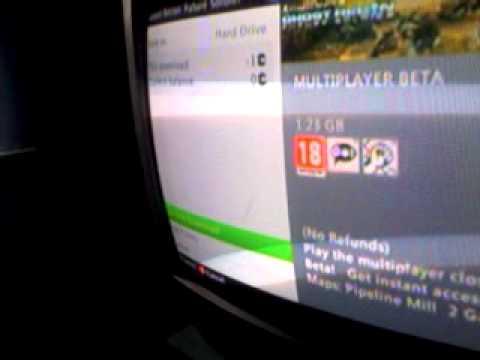 Xbox live marketplace fucked up glitch