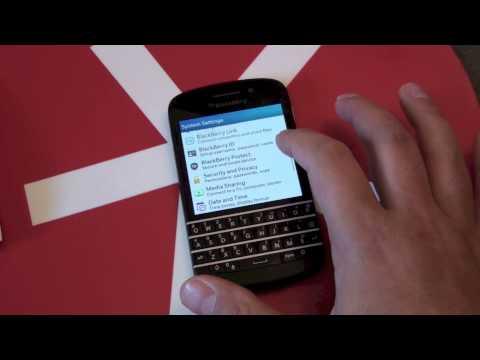 How to unlock your BlackBerry Q10