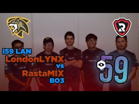 CS:GO - i59 LAN LondonLYNX vs RastaMix BO3