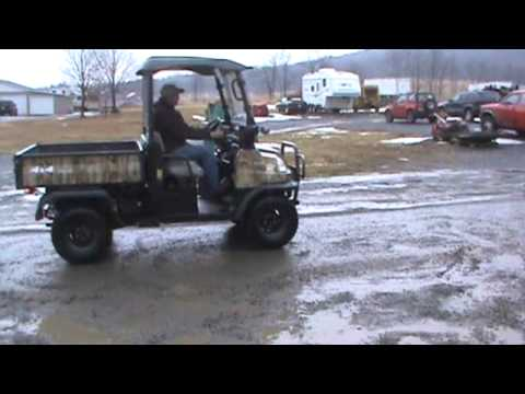 2009 kubota rtv900 utv utility vehicle 4x4 diesel side by side hydro for sale youtube. Black Bedroom Furniture Sets. Home Design Ideas