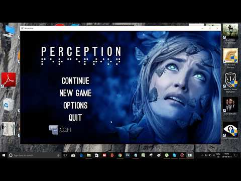 Visual C++ fixed for Perception PC Game | 100% worked |