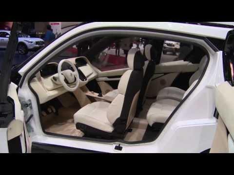 Metropolia University Biofore Concept at Geneva Auto Show 2014   AutoMotoTV