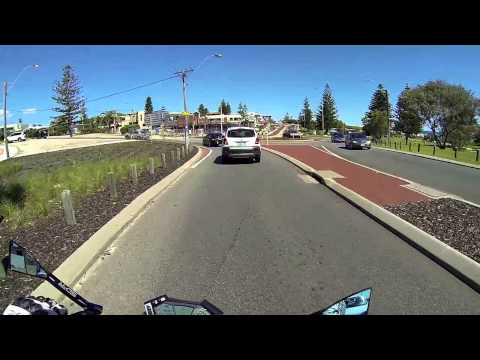 Motorbike ride down the West Australian coast - Perth