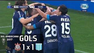 Video Gol Pertandingan Corinthians SP vs Racing Club